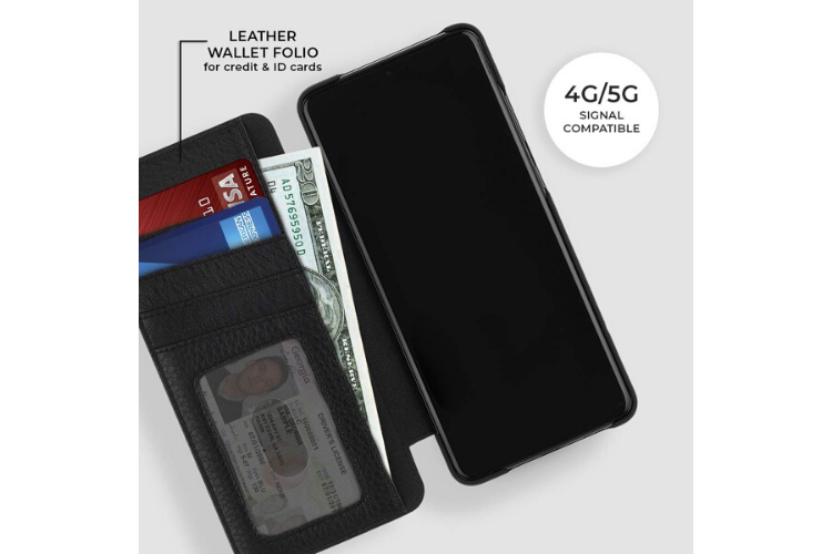 Case-Mate Leather Wallet Folio for Galaxy S20