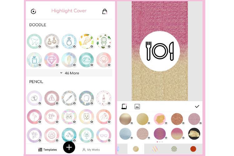 Highlight Cover Maker for Instagram – Ryzenrise