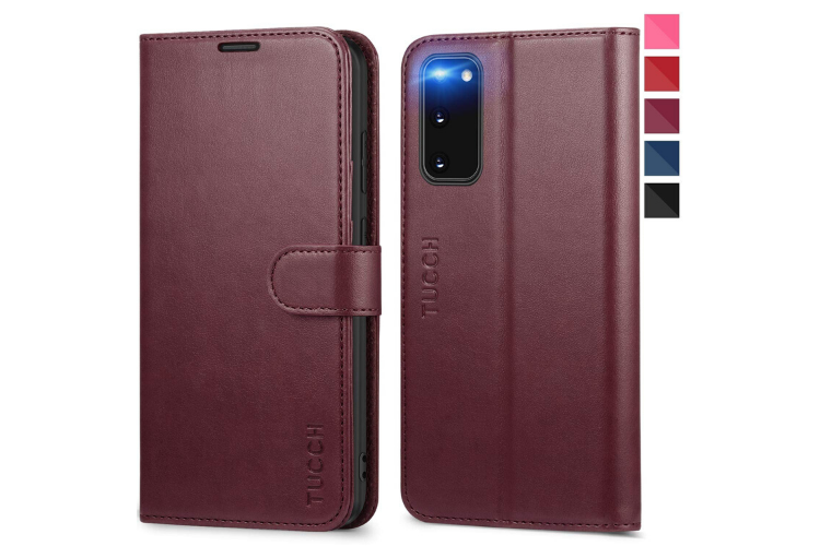 TUCCH Galaxy S20 Wallet Case