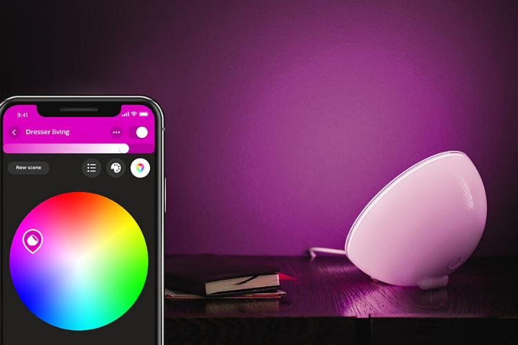 Philips Hue Go with App