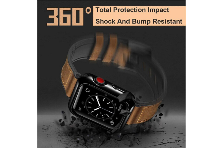 Speidel Apple Watch Band with Protective Case