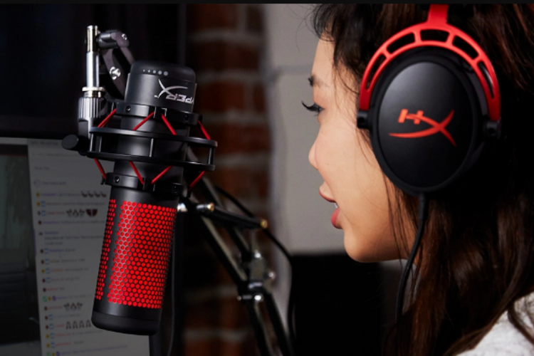 Best Microphones for Twitch Streaming - HyperX QuadCast