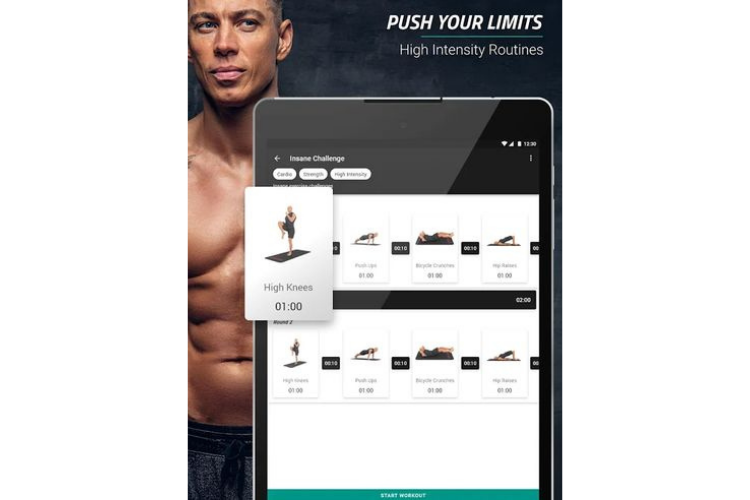 Spartan Home Workouts Fitness App