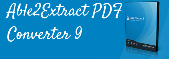Able2Extract PDF Converter 9 fi