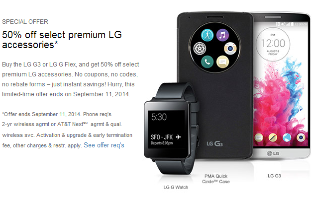LG Accessories Offer