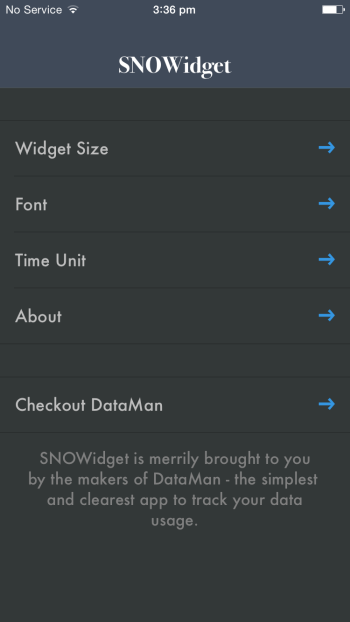 Get a Snowy Christmas Countdown with SNOWidget Christmas App