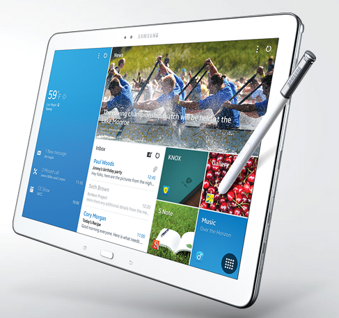 Samsung Galaxy NotePro - Exciting Mobile Technologies At CES 2014