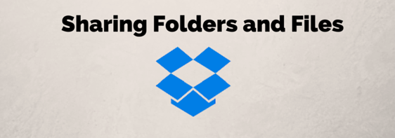 Sharing folders in dropbox- fi