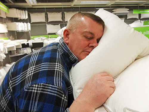 Sound Oasis Sleep Therapy Pillow - gadgets to help you get sleep